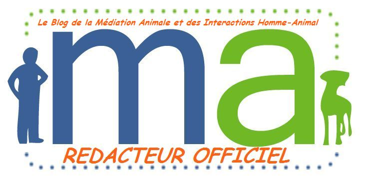 Rédacteur officiel du blog de la médiation animale.